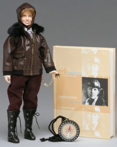 girls-explore com Amelia Earhart historical inspiration American doll