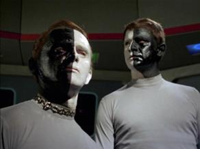 Star Trek Let That Be Your Last Battlefield Bele And Lokai Of The Planet Cheron, Enemies