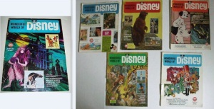 Wonderful World Of Disney Magazines Lot Of 6 1968-1970 All