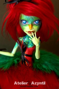 monster high quetzal parrot girl by atelierazyntil tumblr
