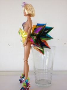 FredBulterStyle blogspot com Barbie Futurisitic Fashion Art For Selfridges 6